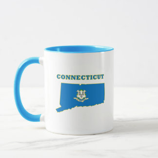 Ct-Staats-Flagge Tasse