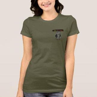Cthrusoldier Camouflage-Mädchen T-Shirt