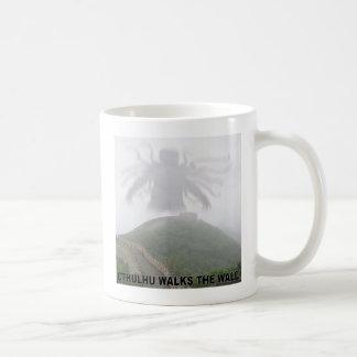 Cthulhu geht die große Wand der China Kaffeetasse