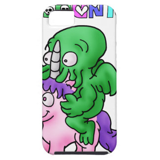CthulhUnicorn - Wortspiele - Francois Ville iPhone 5 Hülle
