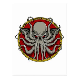 Cthulu Wappen Postkarte