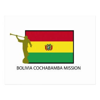 CTR BOLIVIENS COCHABAMBA AUFTRAG-LDS POSTKARTE