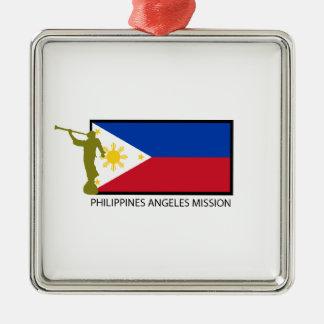 CTR PHILIPPINEN ANGELES AUFTRAG-LDS SILBERNES ORNAMENT