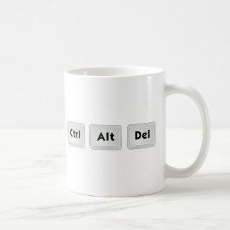 Ctrl Alt Del Kaffeetasse
