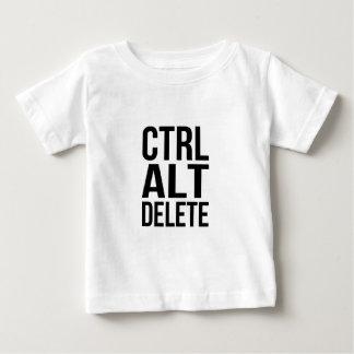 Ctrl+Alt+Löschung Baby T-shirt