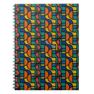 Ctrl in den Farben/im Foto-Notizbuch (80 Seiten Spiral Notizblock