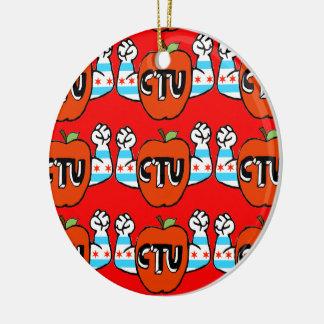 CTU/Every Chicago allgemeine Schule ist meine Keramik Ornament