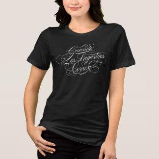 Cuando Los Lagartijos Corren entspanntes T-Stück T-Shirt