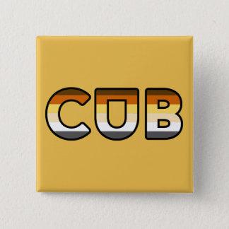 CUB übersetzen Quadratischer Button 5,1 Cm