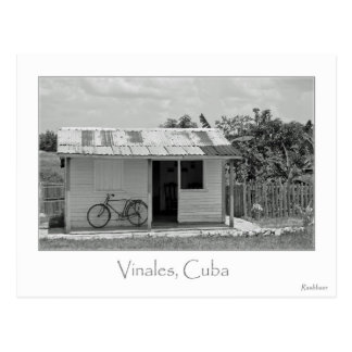 CUBAN HOME POSTKARTE