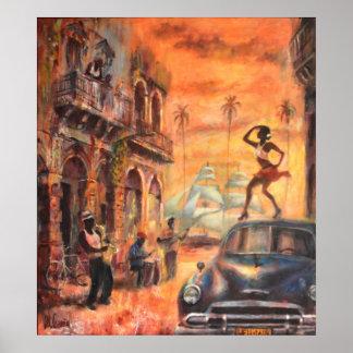 Cuban tanzt poster
