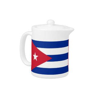 Cubanese Flaggen-Teekanne