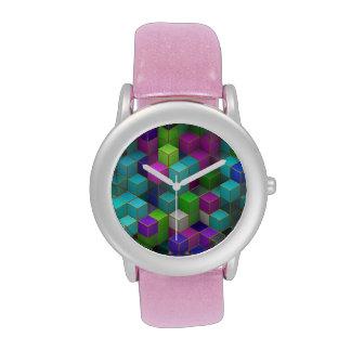 Cubes Armbanduhr
