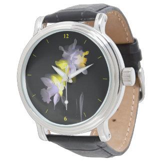 Cubist-Narzissen Armbanduhr
