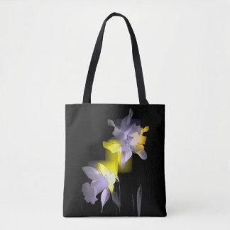 Cubist-Narzissen Tasche