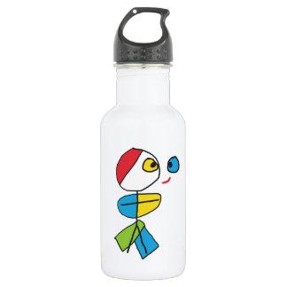 Cubist Stickman Trinkflasche