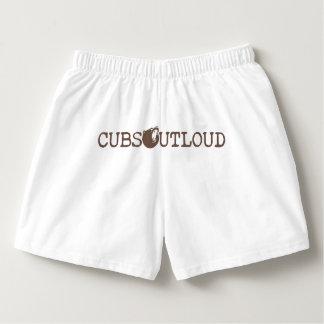 CUBs laute Unterwäsche heraus Logo-V3 Herren-Boxershorts