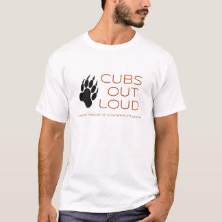 CUBs lauter T - Shirt heraus Logo-V2