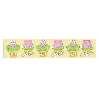 Cucake Illustrationen Kurzer Tischläufer