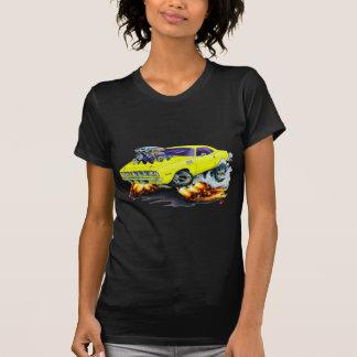 Cuda gelbes Auto 1971-73 T-Shirt