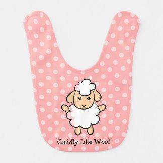Cuddly wie Wollen, niedliche Schafe für Lätzchen