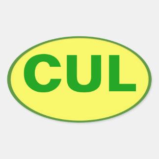 CUL Aufkleber - Culebra Farben!