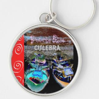 Culebra II Puerto Rico Keychain Schlüsselanhänger