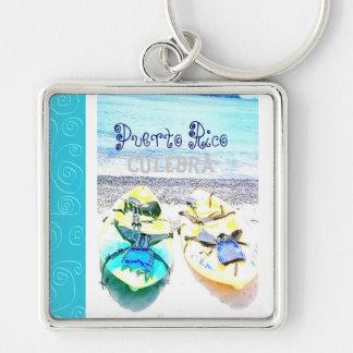 Culebra Puerto Rico Keychain Schlüsselanhänger