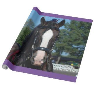 Culpeper, Virginia-Entwurfs-Pferde-und Geschenkpapier