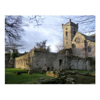Culross Abtei-Ruinen Postkarte