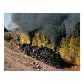 Cumbres und Toltec Eisenbahn, Nr. 487 und Nr. Postkarte