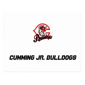 Cumming-jr.-Bulldoggen Postkarte