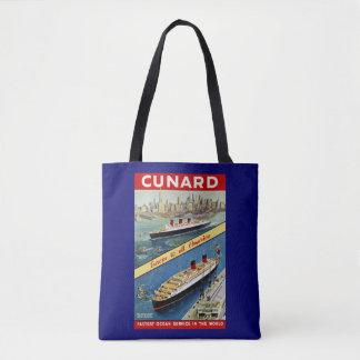 Cunard Europa nach alles Amerika Tasche