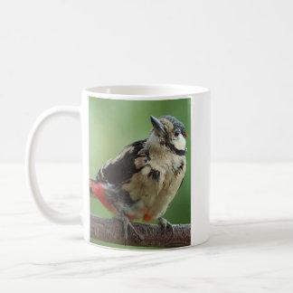 Cup WOODPECKER pic épeiche BUNTSPECHT - JL Glineur Kaffeetasse