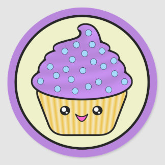 Cupcake Aufkleber