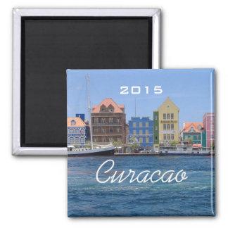 Curaçao reisen quadratischer magnet