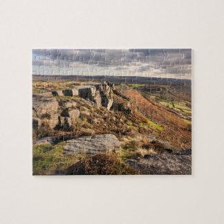 Curbar Rand auf dem Höchstbezirksandenken-Foto Puzzle