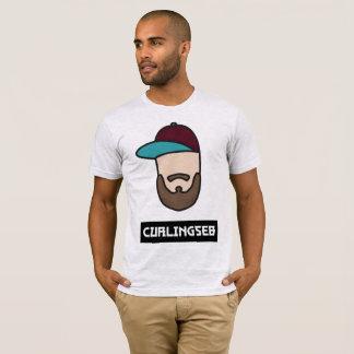 Curlingseb Aschen-Grau-T - Shirt-Männer T-Shirt