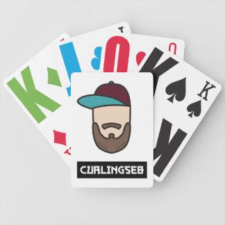 Curlingseb Poker-Karten Bicycle Spielkarten