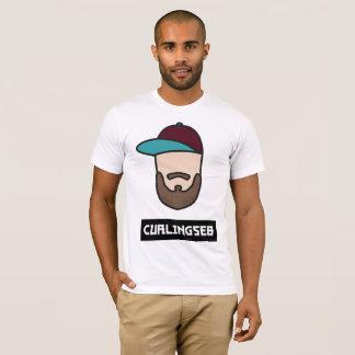 Curlingseb weiße T - Shirt-Männer T-Shirt