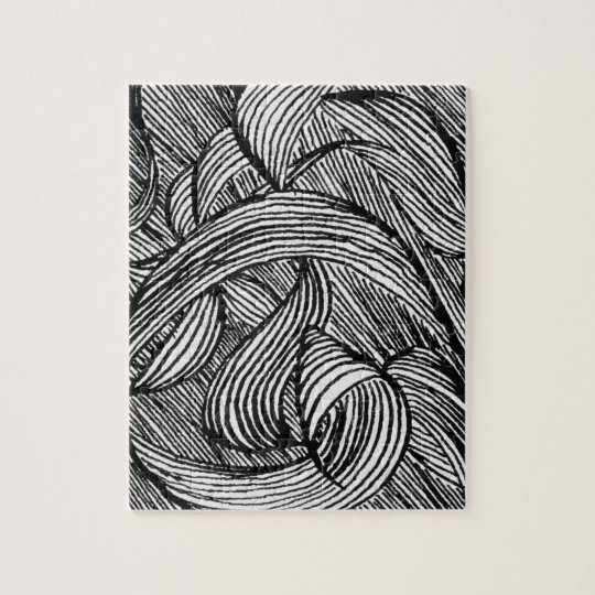 curly lines puzzle