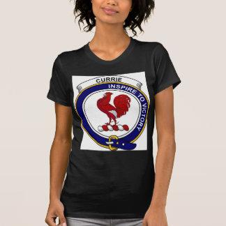 Currie (oder Curry) Clan-Abzeichen T-Shirt
