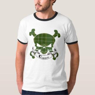Currie Tartan-Schädel T-Shirt