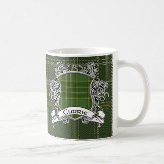Currie Tartan-Schild Kaffeetasse