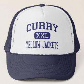 Curry - gelbe Jacken - hoch - Jaspis Alabama Truckerkappe
