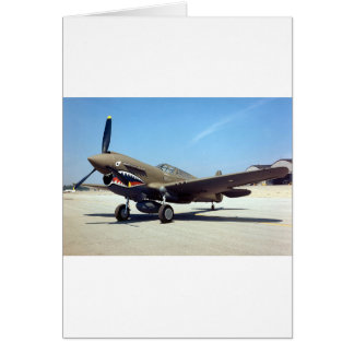 curtiss P-40 Tomahawk Karte