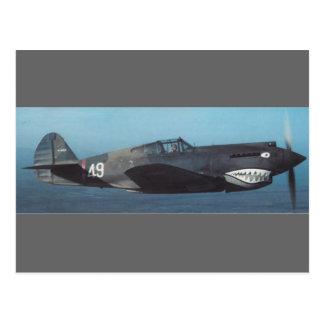 curtiss P-40 Tomahawk Postkarte