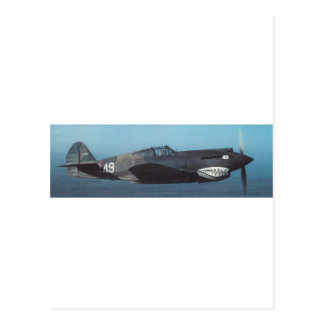 curtiss P-40 Tomahawk Postkarte