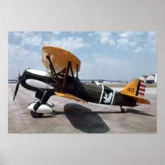 Curtiss P-6E Falke-Plakat Poster