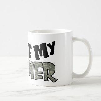 Curvy i-Liebe mein Soldat Kaffeetasse